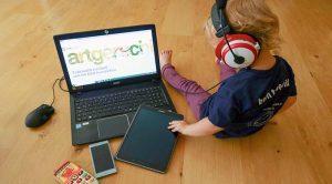 Gesunder Uumgang mit Medien kleine Kinder